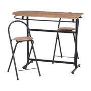 カウンターテーブル×1・チェア×2 3点セット