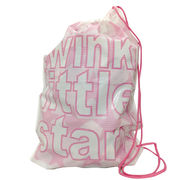ビニール巾着袋(ピンク) 箱/ケース売 200入
