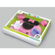 ミニーマウスアイコンベビー食器セット