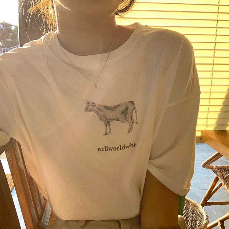 2020春夏新作 オシャレな 可愛い Tシャツ