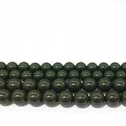 連 北投石(緑)丸 8mm 薬石 美容 健康 品番: 9958 [9958]