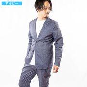 【2020新作】 テーラードジャケット メンズ セットアップ対応 プリント リップストップ サマージャケット