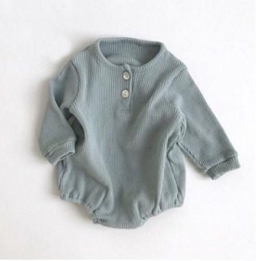 韓国ファッション 韓国子供服  2020春夏新作 子供服 ベビー赤ちゃん服 男女兼用 66-90cm 2色