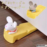 チーズねずみ ドアストッパー【ネズミ/鼠/インテリア/おもしろ/雑貨 】
