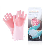 キッチン用品 シリコン手袋 クリーニンググローブ キッチングローブ