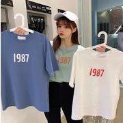 【海外買付】人気Tシャツv-bb01a-b8050【2020春夏新作】レディース/シンプル/タウン使い/可愛い