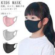ザ対策 子供マスク 花粉対策 マスク 洗える 2枚セット キッズマスク マスク 花粉症 ウィルス飛沫 予防対策