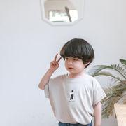 Tシャツ プリント 半袖 夏 人気商品 キッズ 韓国子供服 男女兼用 2020新作 SALE