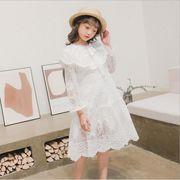 ワンピース レース プリンセス キッズ 韓国子供服 2020新作 SALE ファッション動画あり m14814
