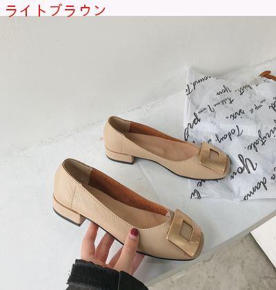 靴 女 春 新しいデザイン 何でも似合う ネット レッド フェアリー 風 スクエアトゥ