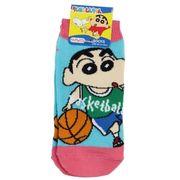 【靴下】クレヨンしんちゃん キッズソックス バスケットボール