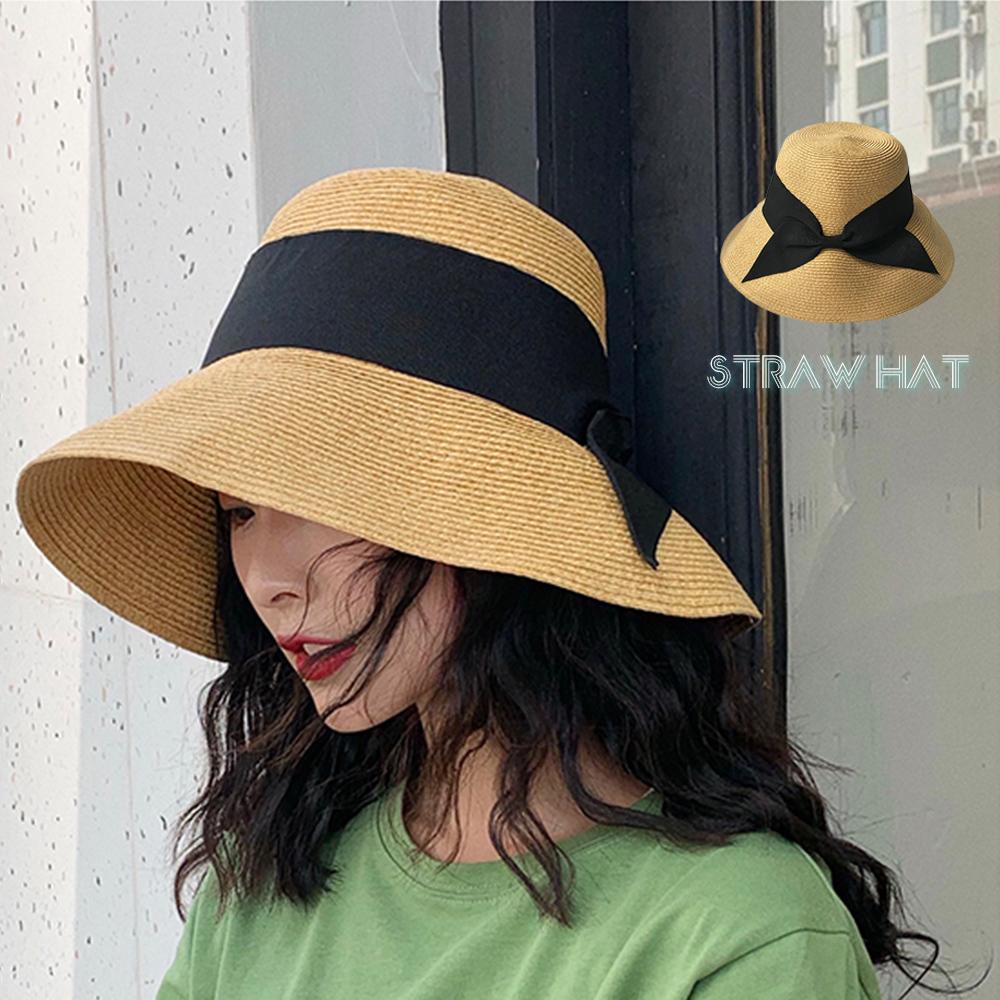 麦わら帽子 つば広 レディース 日よけ防止 フェミニン 折りたたみ 小顔効果 可愛い 即納
