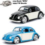 JADATOYS 1/24 BTK 1959 VW Beetle ミニカー