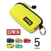 【全5色】 EDWIN エドウイン L字ファスナー ラミネート加工 コインケース ウォレット 財布 小銭入れ