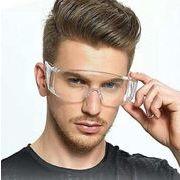 在庫処分!保護サングラス ウイルス対策 花粉対策 飛沫感染を防ぐ  防災 メガネ 男女兼用 眼鏡