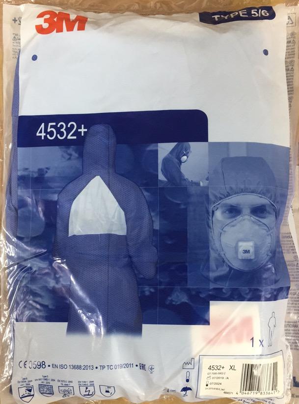 スリーエム 化学防護服