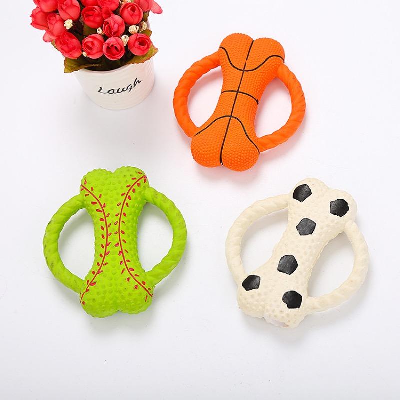 ペット用品 おもちゃ 遊び道具 運動 ストレス発散 シリコン 犬 TPR