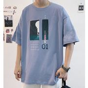 新作 メンズ トップス Tシャツ ブラウス 半袖 夏 カジュアル