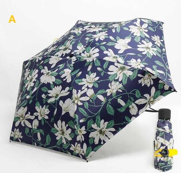 UV晴雨兼用 折り畳み傘 日傘 超軽量 mini傘 6本骨 軽量 丈夫 超コンパクト設計 非自動傘