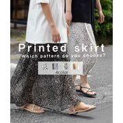 Printed skirt 222043