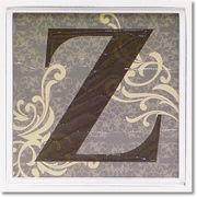 アルファベットアートフレーム「Z」