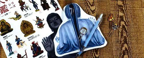 【Kamio Japan】大人の図鑑シリーズ ダイカットペンポーチ 2種 2020_6末発売