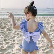 子供水着 80-130 キッズ モノキニ 女の子  ビーチ 練習用 温泉 可愛い ワンピース
