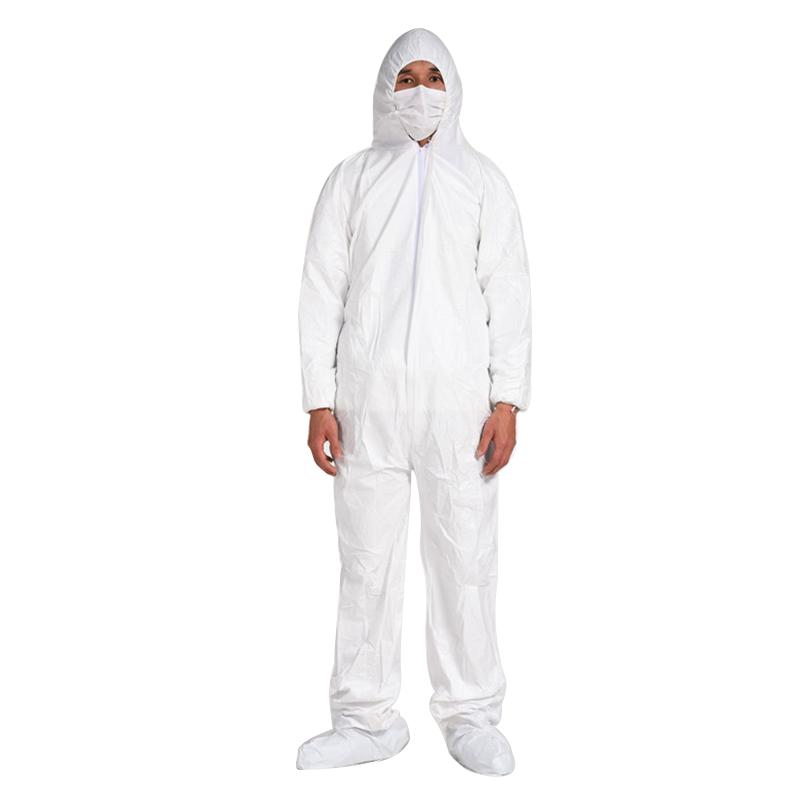 使い捨て非医療用防護服/つなぎ/白/通気性/防水性/EU/FDA/個包装