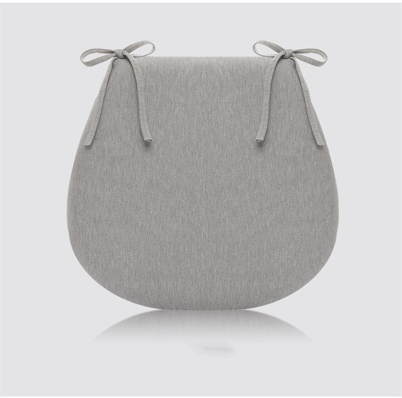 クッション 座布団 椅子用 低反発クッション オフィスチェア 座り心地よい 43x41x4cm  4色