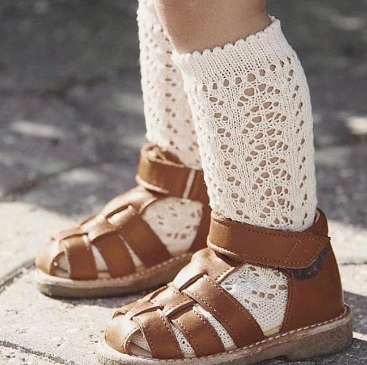 レッグウォーマー 子供用 穴空き ベビー用 靴下 可愛いソックス ファション