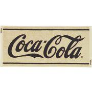 コカ・コーラ フェイスタオル クラシックベージュ 【アメリカン雑貨】【日本製タオル】