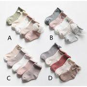 【5枚から】ベビー靴下 子供 キッズ  0-8歳 新作 可愛いソックス ベビー用靴下 ファション