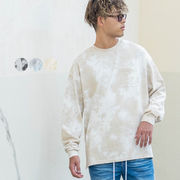 【2020秋冬新作】ユニセックス タイダイ染め 胸ポケット BIG ロンT