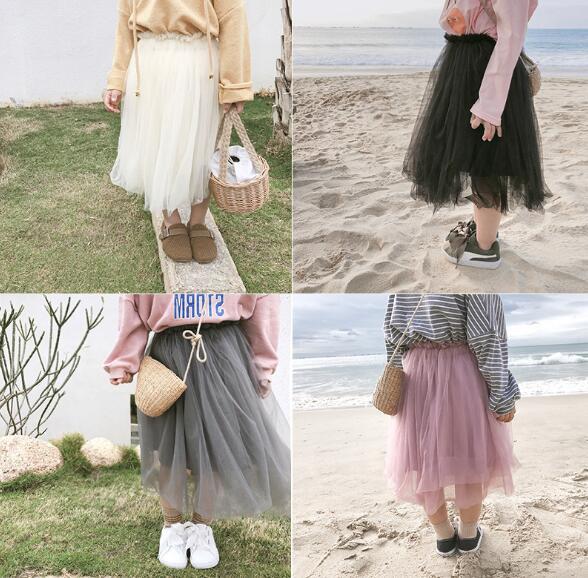 キッズファッション♪子供 チュールスカート 人気 新品