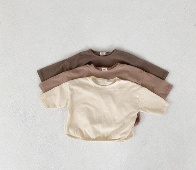 秋 子供シャツ キッズ服 ブラウス トップス 女の子 男の子 tシャツ 子供服 カジュアル系