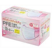 PFE不織布3層マスク 小さめサイズ 50枚入 【 株式会社富士】 【 マスク 】