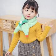 秋冬新作★子供 キッズ マフラー★ファッション★厚い ★ 暖かい 防寒 スカーフ★男女兼用★6色