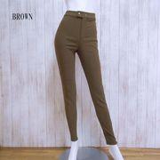 あったか裏起毛 スーパーストレッチ 美脚パンツ 5サイズ・4カラー