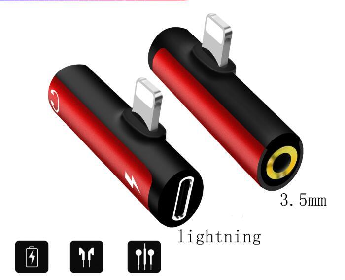 iPhone イヤホン 充電しながら iPhone 変換ケーブル lightning+3.5mm変換アダプター