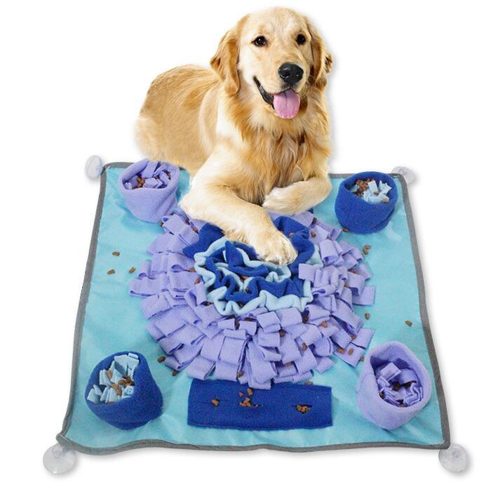新品   ペットスニッフィングマット 窒息を防ぐ ペットボウル 犬猫 エネルギードレンマット