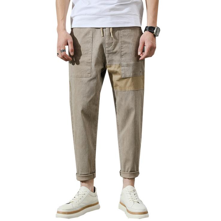 春秋新作 レジャー ズボン ゆったり の韓国スタイル パンツ メンズ 大人気 シンプル 早い者勝ち