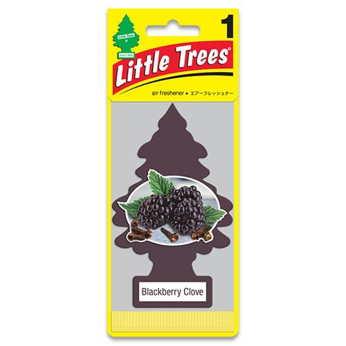 リトルツリー エアフレッシュナー LittleTrees ブラックべリー クローブ