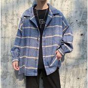 超お買い得タイムセール 格子縞 ウィンドブレイカー 韓国 ファッション ジャケット トレンド 怠惰な風