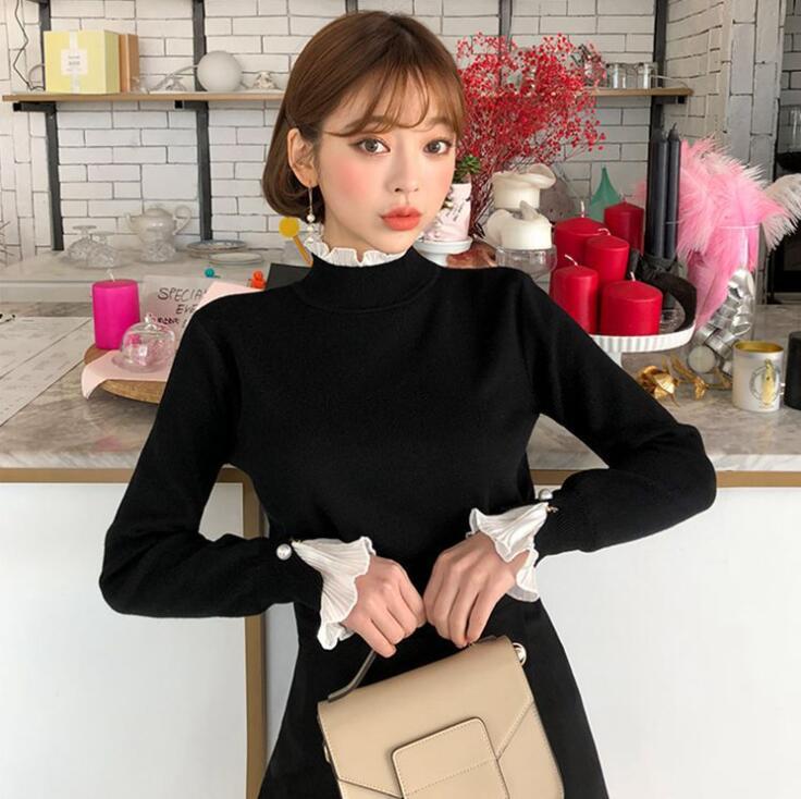 人気商品 ニットセーター女性ルーズレイジーウールセーター/ニットセーター
