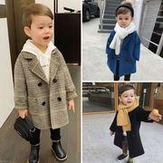 2021新品★子供ファッション♪ウールコート★キッズ服★男の子★子供コート★オシャレ♪5色90-130