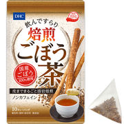 ※DHC 飲んですらり 焙煎ごぼう茶 ノンカフェイン 10ティーバッグ