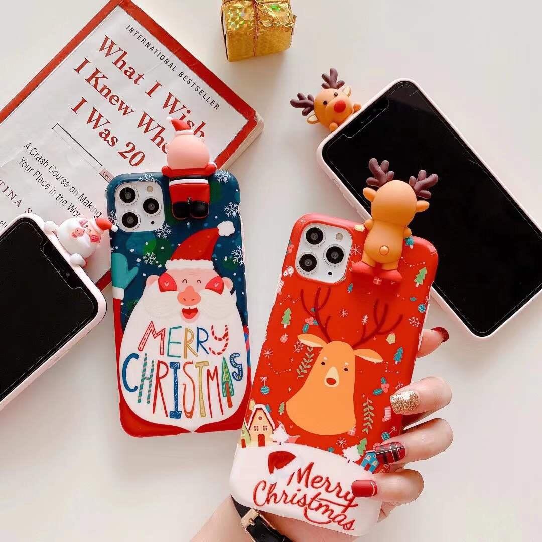 クリスマス雰囲気 iphone12ケース サンタ iPhoneSE 第2世代 iPhone11proケース