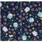日本製 made in japan デザイナーズジャパン 3ポケットマスクケース 小花とアマビエ MSK3P-027