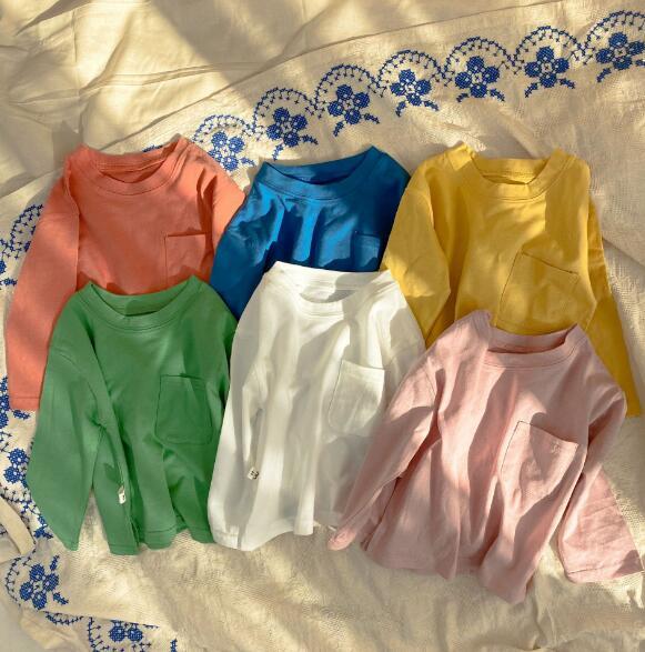 2021春 ベビー キッズ 韓国子供服 男の子 女の子 80-130 Tシャツ カジュアル