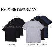 S)【エンポリオ アルマーニ】CREW 3PCK 110821 半袖Tシャツ 全2種 メンズ